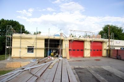 Přístavba hasičské zbrojnice 2017