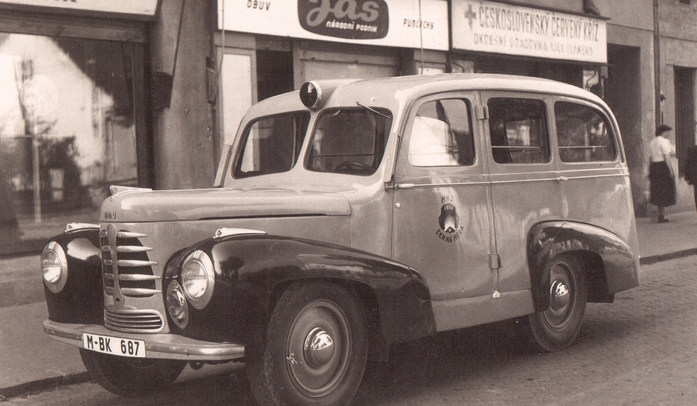 Sanitní vůz 1946