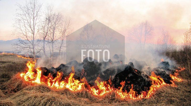 3. 8. 2018 Požár pole Voděrady