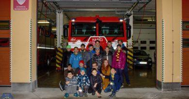 Exkurze na hasičské stanici Boskovice