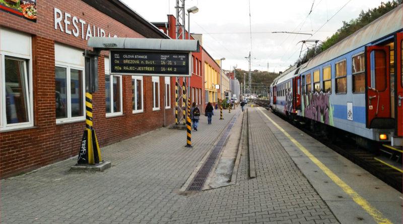 11. 2. 2020 Požár vlaku Blansko