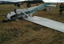Pád letadla u Bořitova 31. 8. 2020