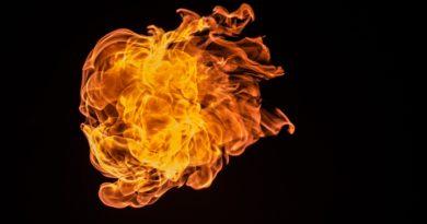 Požár sklepa Blansko 26. 2. 2021